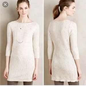 Anthropologie Moth sweater dress tunic XS